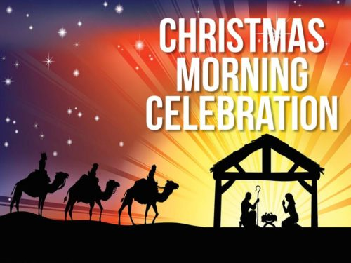 Christmas Morning Celebration