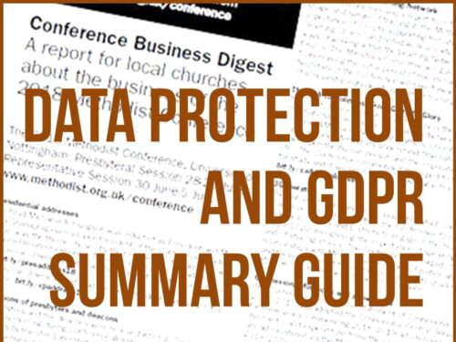 YMC Data Protection and GDPR Summary Guide
