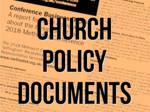 Church Policy Documents