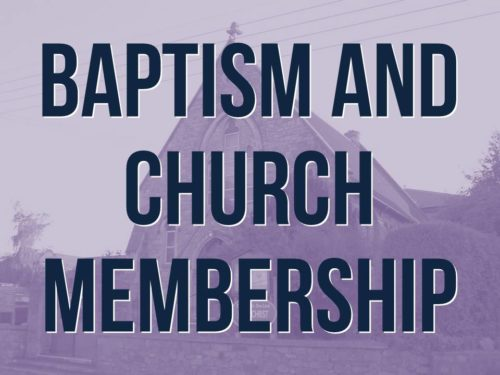 Info about becoming a member or being baptised