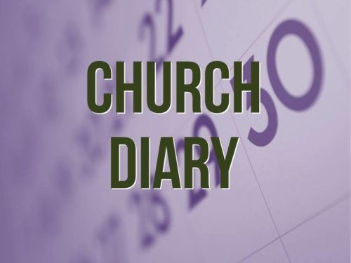 Church Diary Dates